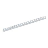 Пружины пластиковые Buromax, 19 мм, белый, 100 шт (BM.0506-12)