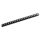 Пружины пластиковые Buromax, 22 мм, черный, 50 шт (BM.0507-01)