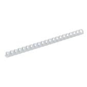 Пружины пластиковые Buromax, 25 мм, белый, 50 шт (BM.0508-12)