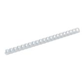 Пружины пластиковые Buromax, 28 мм, белый, 50 шт (BM.0509-12)