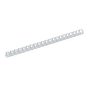 Пружины пластиковые Buromax, 45 мм, белый, 50 шт (BM.0512-12)