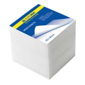 Блок белой бумаги для записей Buromax Люкс BM.2219, 90х90х90 мм, не склеенный