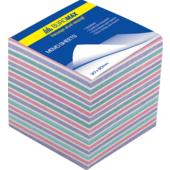 Блок бумаги для записей Buromax Зебра BM.2269, 90х90х70 мм, 1100 лист, не склеенный