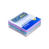 Блок бумаги Buromax ДЕКОР 80х80х30мм склеенный (BM.2272)