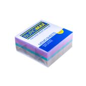 Блок бумаги Buromax ДЕКОР 90х90х40мм, не склеенный (BM.2285)