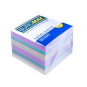 Блок бумаги Buromax ДЕКОР 90х90х70мм, не склеенный (BM.2289)