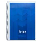 Тетрадь Buromax Prime 96 листов А4 в клетку Синий (BM.24451101-02)