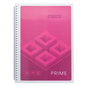 Тетрадь Buromax Prime 96 листов А4 в клетку Розовый (BM.24451101-10)