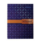 Записная книжка Buromax Insolito А5 96 л. в клетку твердая картонная обложка синий (BM.24511102-02)