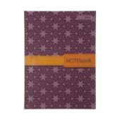 Записная книжка Buromax Insolito А5 96 л. в клетку твердая картонная обложка бордовая (BM.24511102-13)