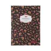 Записная книжка Buromax Piccoli А5 80 л. в клетку интегральная обложка коричневая (BM.24522101-25)