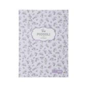 Записная книжка Buromax Piccoli А5 80 л. в клетку интегральная обложка лавандовая (BM.24522101-39)