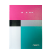 Блокнот Buromax CHIAZZATO, А-5, 80л., клетка., инт. обл., мат. лам., розовый (BM.24522102-10)