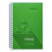 Тетрадь Buromax Prime 96 листов А5 в клетку Салатовый (BM.24551101-15)