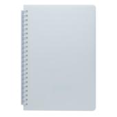 Тетрадь Buromax Fresh 60 листов А5 без линовки пластиковая обложка Белый (BM.24554056-12)