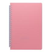 Тетрадь Buromax Fresh 60 листов А5 без линовки пластиковая обложка Светло-розовый (BM.24554056-43)