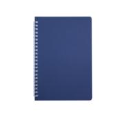 Тетрадь Buromax Bark 60 листов А5 в клетку пластиковая обложка Синий (BM.24554154-02)