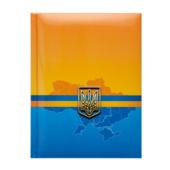 Блокнот Buromax Ukraine 140 х 185 мм в клетку с поролоном 80 листов Синий (BM.24582101-02)