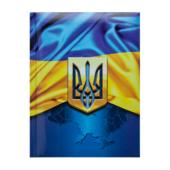 Блокнот Buromax Ukraine 140 х 185 мм в клетку с поролоном 80 листов Темно-синий(BM.24582101-03)