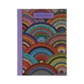 Записная книжка Buromax Weave А6 64 л. в клетку твердая обложка сиреневая (BM.24614103-26)