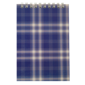 Блокнот на пружине сверху Buromax, А6, 48 л, клетка, синий (BM.2480-02)