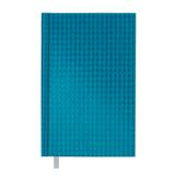 Ежедневник недатированный Buromax Diamante A6 из бумвинила на 288 страниц Бирюзовый (BM.2608-06)
