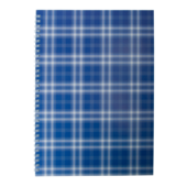 Тетрадь на пружине сбоку Buromax Shotlandka, А4, 48л., клетка, картонная обложка, синий (BM.2590-02)