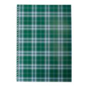 Тетрадь на пружине сбоку Buromax Shotlandka, А4, 48л., клетка, картонная обложка, зеленый (BM.2590-04)