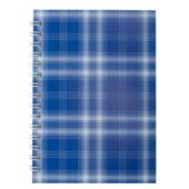 Тетрадь на пружине сбоку Buromax Shotlandka, А6, 48л., клетка, картонная обложка, синий (BM.2592-02)