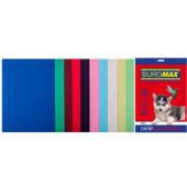 Набор цветной бумаги Buromax, А4, 80г/м2, DARK+PASTEL, 10 цветов, 20 листов (BM.27211120-99)
