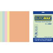 Набор цветной бумаги Buromax Pastel А4 250 л. (BM.27212250E-99)