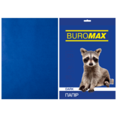 Бумага цветная Buromax, А4, 80г/м2, DARK, темно-синий 20 листов (BM.2721420-02)