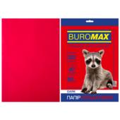 Бумага цветная Buromax, А4, 80г/м2, DARK,  бордовый, 20 листов (BM.2721420-13)