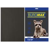 Бумага цветная Buromax, А4, 80г/м2, DARK, черный, 50 листов (BM.2721450-01)