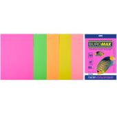 Набор цветной бумаги Buromax, А4, 80г/м2, NEON, 5 цветов, 50 листов (BM.2721550-99)