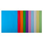 Набор цветной бумаги Buromax, А4, 80г/м2, PASTEL+INTENSIV, 10 цветов, 50 листов (BM.2721650-99)