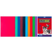 Набор цветной бумаги Buromax, А4, 80г/м2, DARK+INTENSIV, 10 цветов, 20 листов (BM.2721920-99)