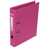 Регистратор Buromax Elite, А4, 50 мм, рычаж. мех, двухстор., розовый (BM.3002-10с)