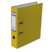 Регистратор Buromax Jobmax, А4, 70 мм, рычаж. мех, одностор., желтый (BM.3011-08c)