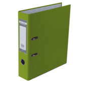 Регистратор Buromax Jobmax, А4, 70 мм, рычаж. мех, одностор., светло-зеленый (BM.3011-15c)