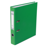Регистратор Buromax Jobmax, А4, 50 мм, рычаж. мех, одностор., зеленый (BM.3012-04c)