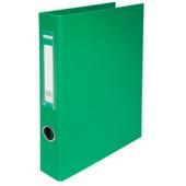 Регистратор Buromax BM.3106-04, А4, 30 мм, кольцевой механизм, 4 кольца, зеленый