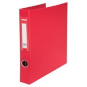 Регистратор Buromax BM.3106-05, А4, 30 мм, кольцевой механизм, 4 кольца, красный