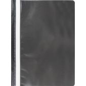 Скоросшиватель пластиковый Buromax, А4, черный (BM.3313-01)