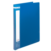 Папка пластиковая со скоросшивателем Buromax Jobmax, А4, синий (BM.3406-02)