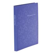 Папка пластиковая со скоросшивателем Buromax Barocco, А4, фиолетовый (BM.3409-07)