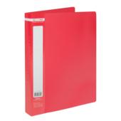 Папка с 60 файлами Buromax Jobmax, А4, красный (BM.3621-05)