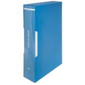 Папка с 60 файлами в чехле Buromax, А4, синий (BM.3628-02)