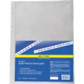 Файлы для документов Buromax, А4+, глянцевый, 30 мкн, 100 шт (BM.3800)