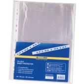 Файлы для документов Buromax, А4+, глянцевый, 40 мкн, 100 шт (BM.3805)